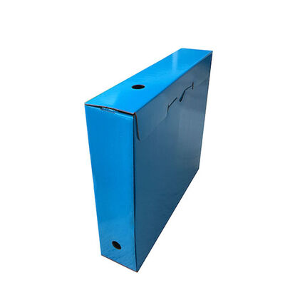 Arşiv Kutusu mavi Ofset baskılı