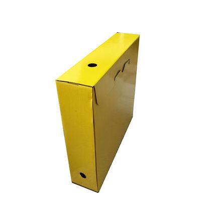 Arşiv Kutusu Sarı Ofset baskılı