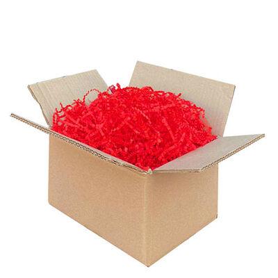 Zigzag Kırpık Kağıt Kırmızı - 250gr